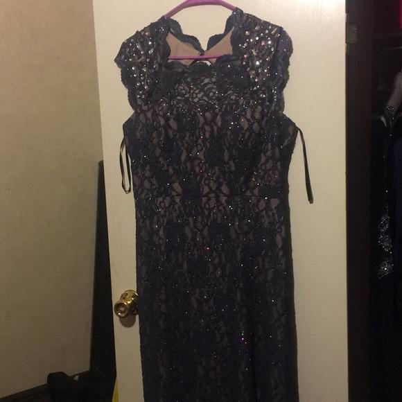 City Triangles Dresses Navy Blue Sparkly Prom Dress Poshmark